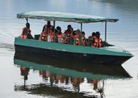 boat cruise in Lake Mburo 15 Days Uganda wildlife, Gorilla and Chimpanzee trekking safari - Wild Jungle Trails Safaris.jpg