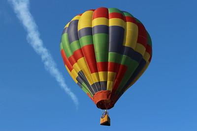 baloon safari botswana