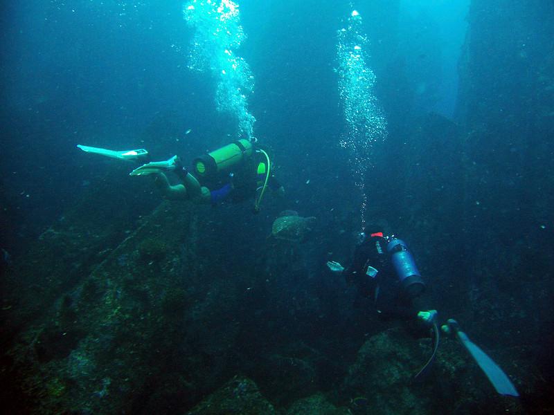 scuba diving africa