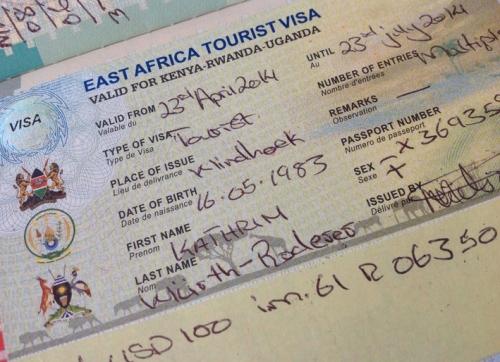 EATV, East African Tourist Visa